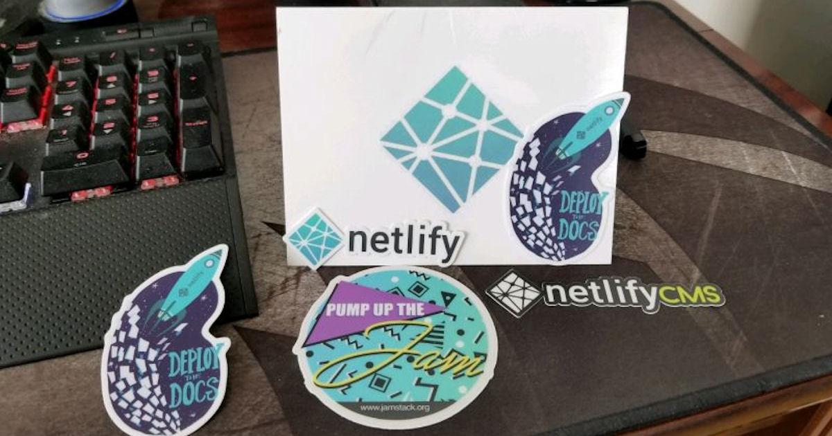 FREE Netlify Stickers...