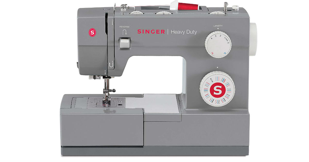 Singer Heavy Duty 4432 Sewing Machine ONLY $138.41 (Reg. $400)