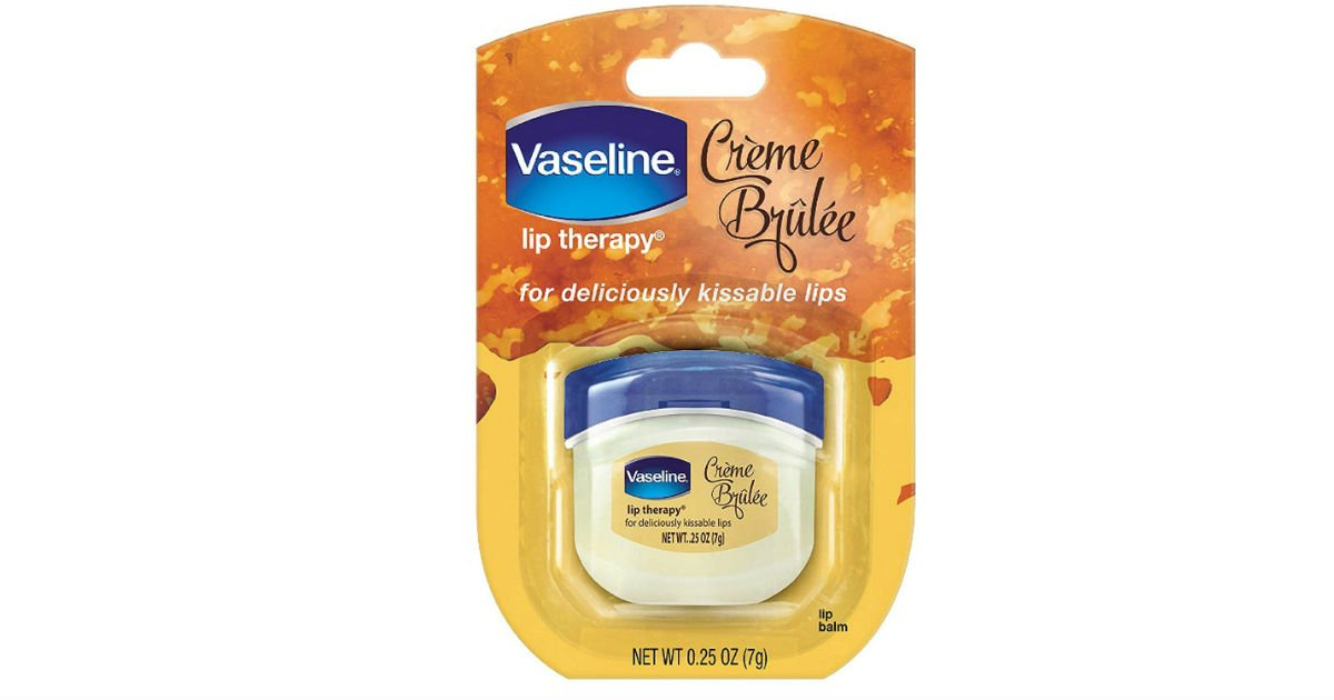 Vaseline Lip Therapy Creme Brulee ONLY $1.40 on Amazon