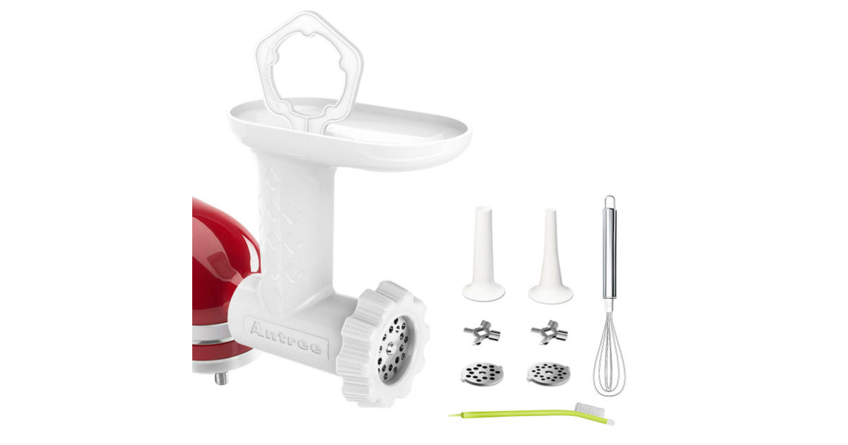 Meat Grinder Attachment for KitchenAid ONLY $28.89 (Reg. $70)