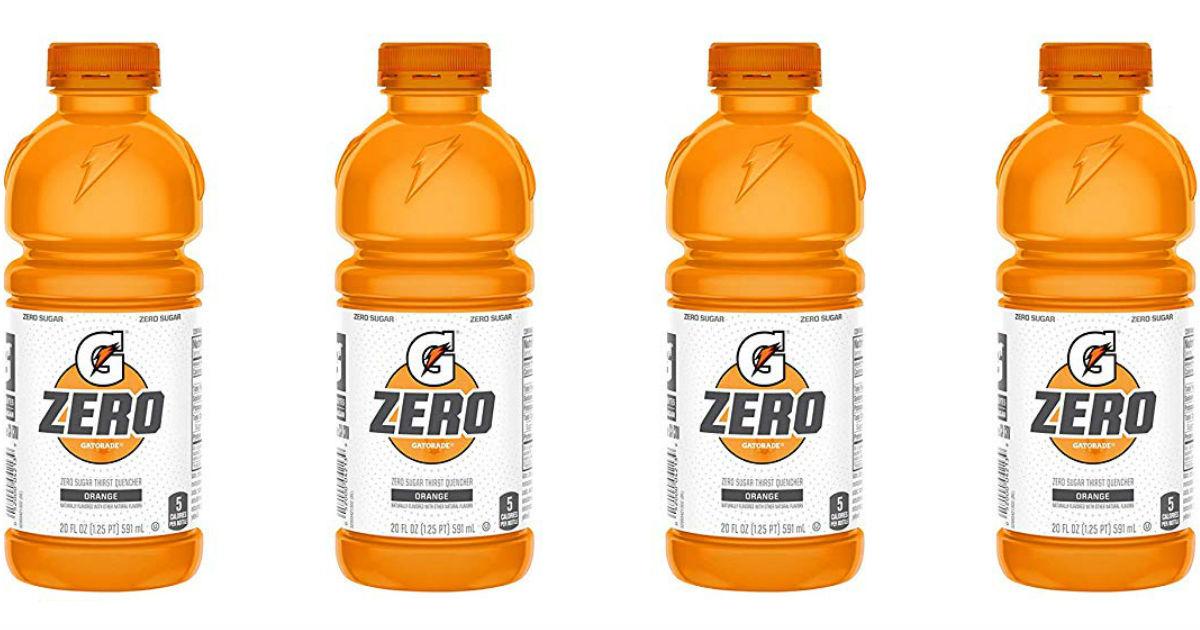 Gatorade Zero 20-oz Bottles 12-Pack ONLY $6.07 Shipped