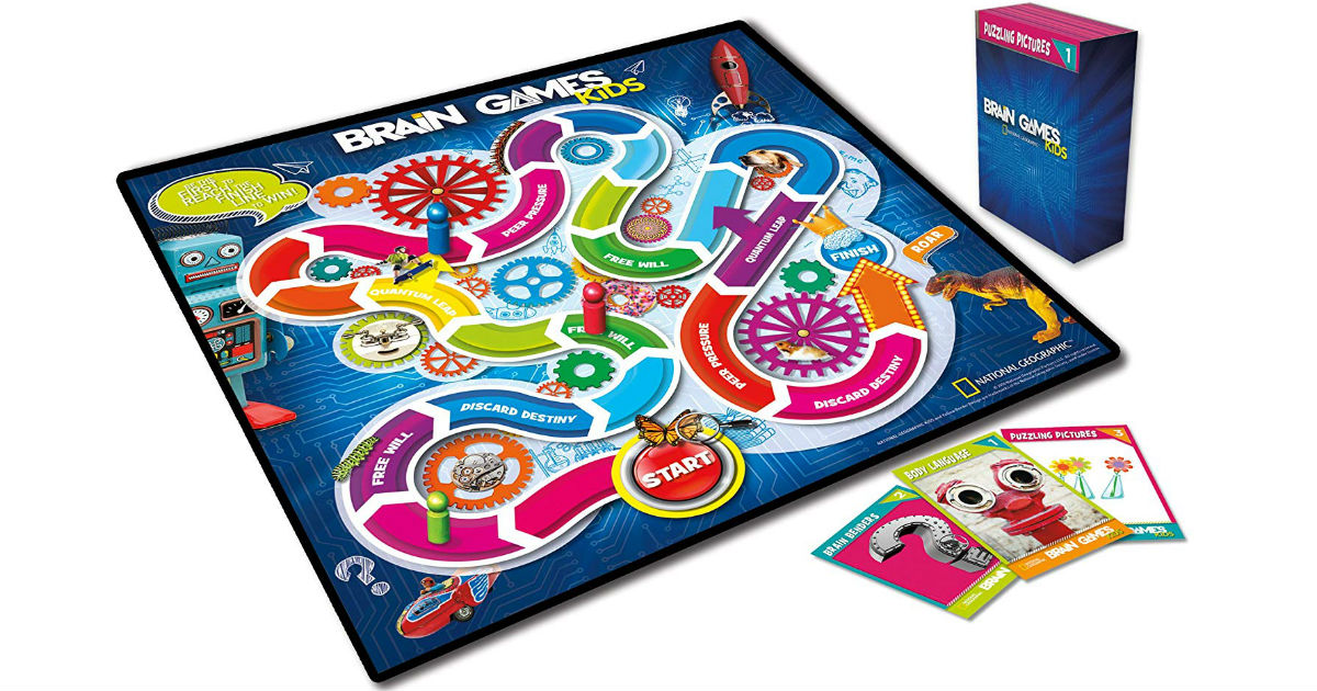 Brain Games for Kids ONLY $8.99 on Amazon (Reg $25)