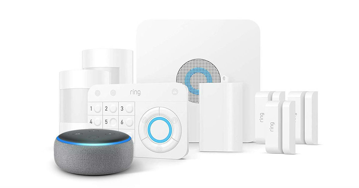 Save $70 on Ring Alarm 8-Piece Kit + Echo Dot on Amazon