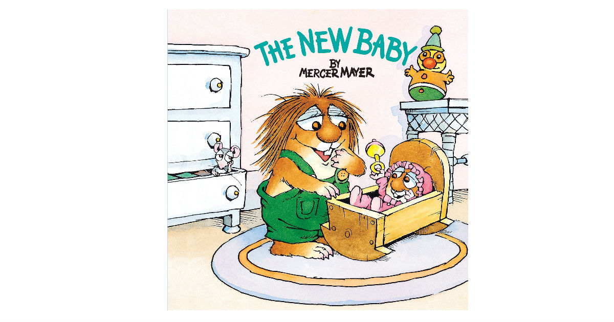 The New Baby Little Critter Book ONLY $1.95 (Reg. $4)