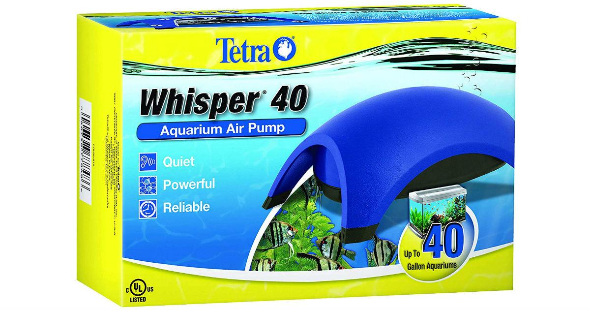 Tetra Whisper Air Pump ONLY $9.47 (Reg $13)