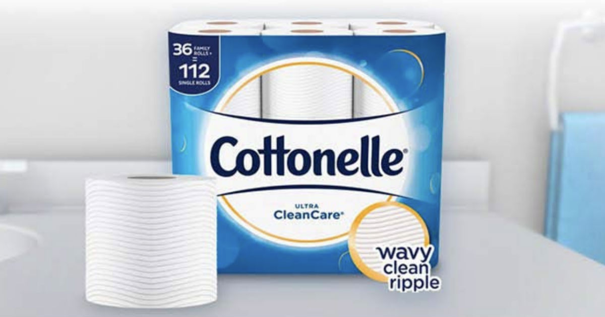 Cottonelle Ultra Toilet Paper Family Size ONLY $15.18 Shipped