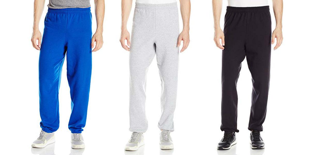 Hanes Men's EcoSmart Fleece Sweatpant as Low as $5.50 (Reg. $12)