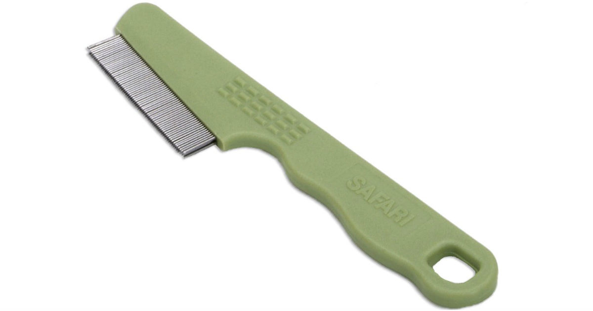 Safari Dog Flea Comb w/ Double Row of Teeth ONLY $1.02 (Reg $10)