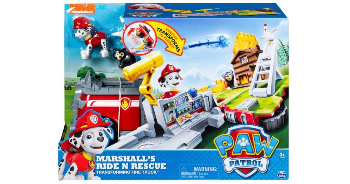 Paw Patrol Ride 'n' Rescue 2-in-1 Playset ONLY $10.99 (Reg $25)