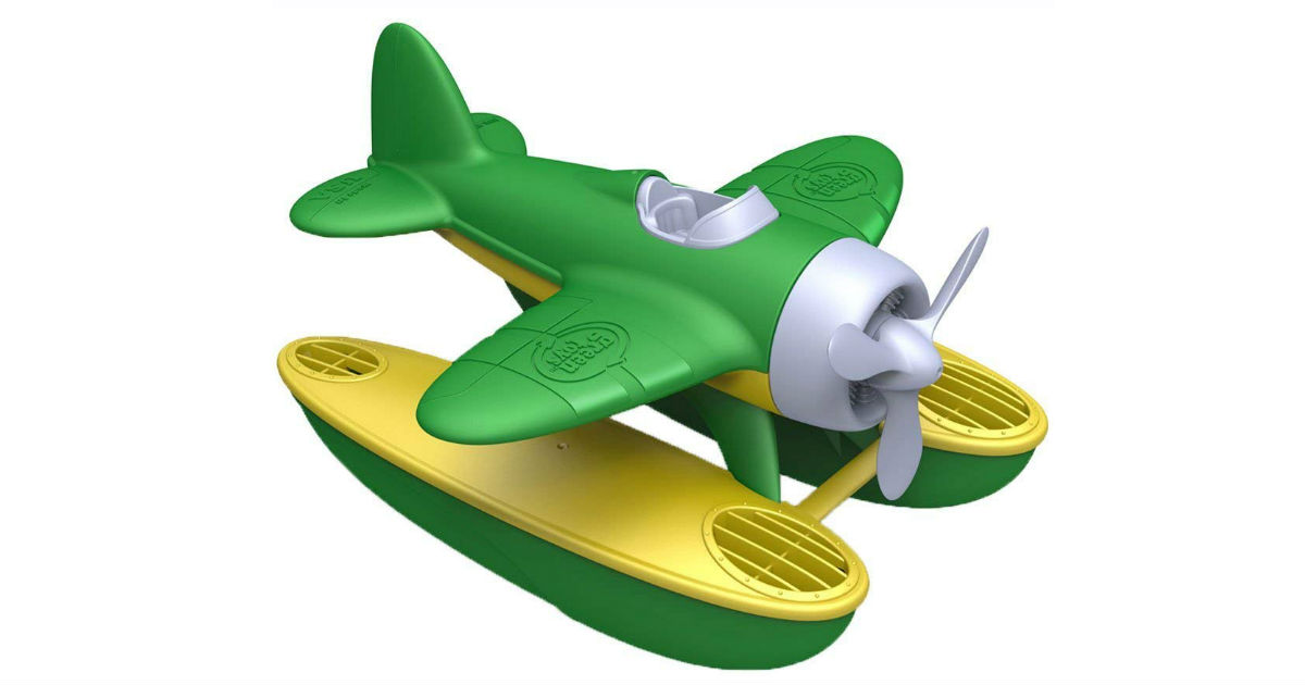 Green Toys Seaplane ONLY $9.74 (Reg. $20)
