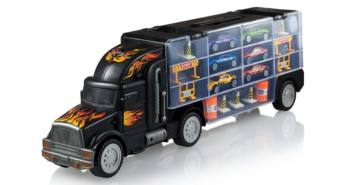 Play22 Toy Truck Transport Car Carrier ONLY $16.99 (Reg. $40)