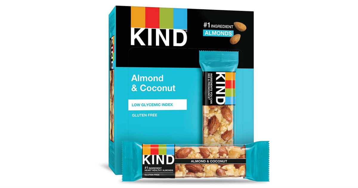 Kind Almond & Coconut Bars 12-Pack ONLY $9.55 Shipped
