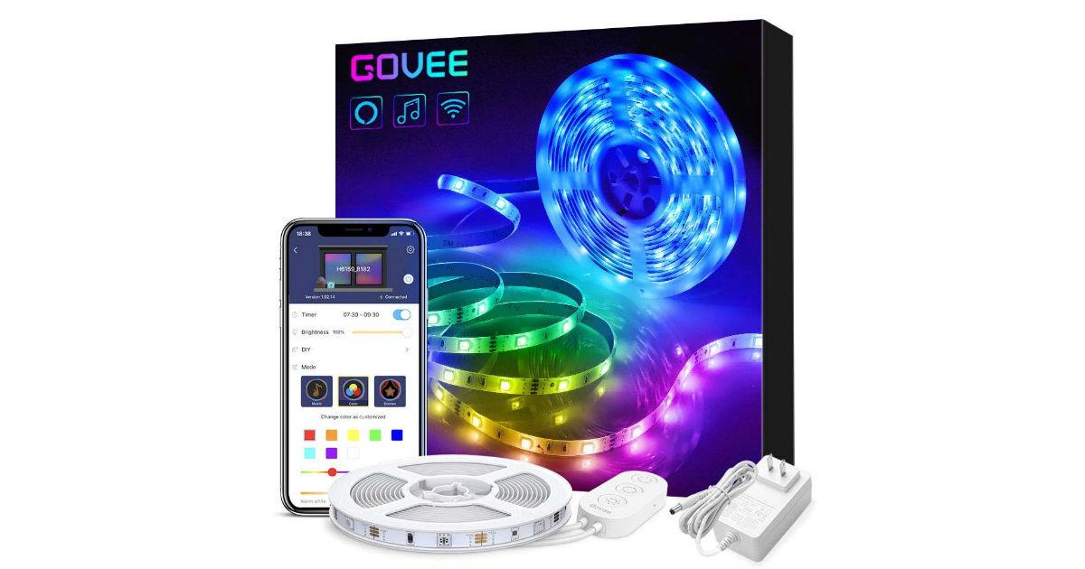 Govee Smart WiFi LED Lights ONLY $20.99 (Reg. $44)