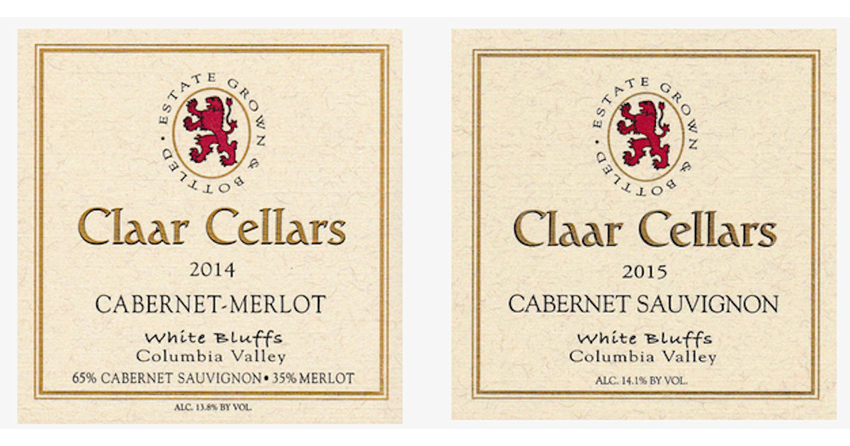FREE Claar Cellars Label Sticker Pack