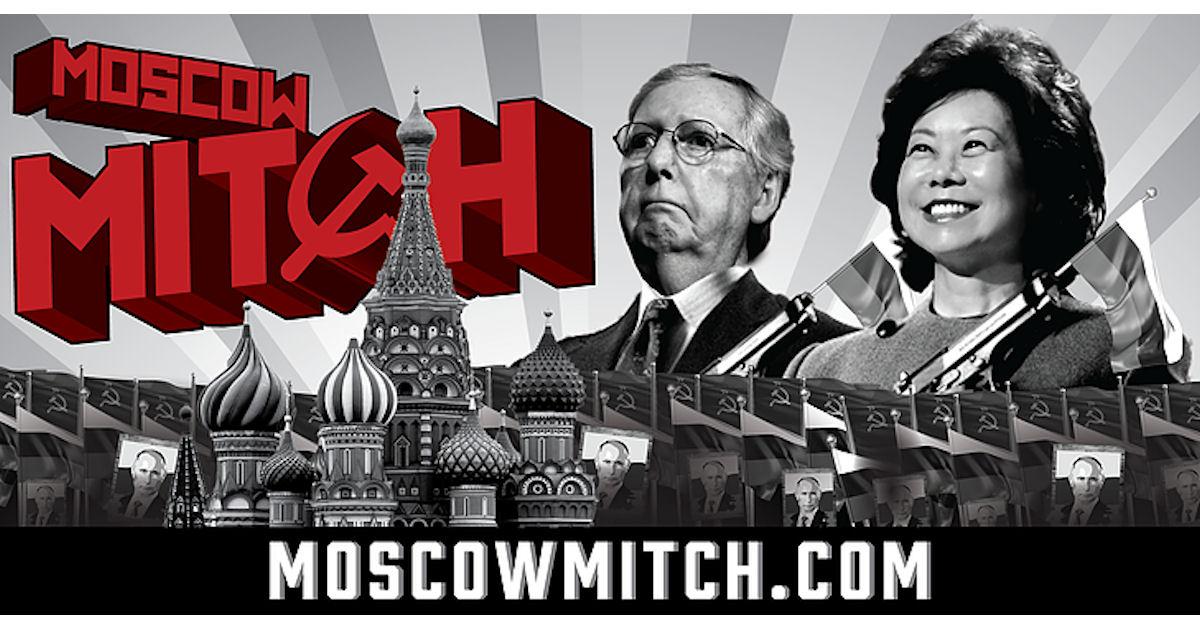 FREE Moscow Mitch Sticker...