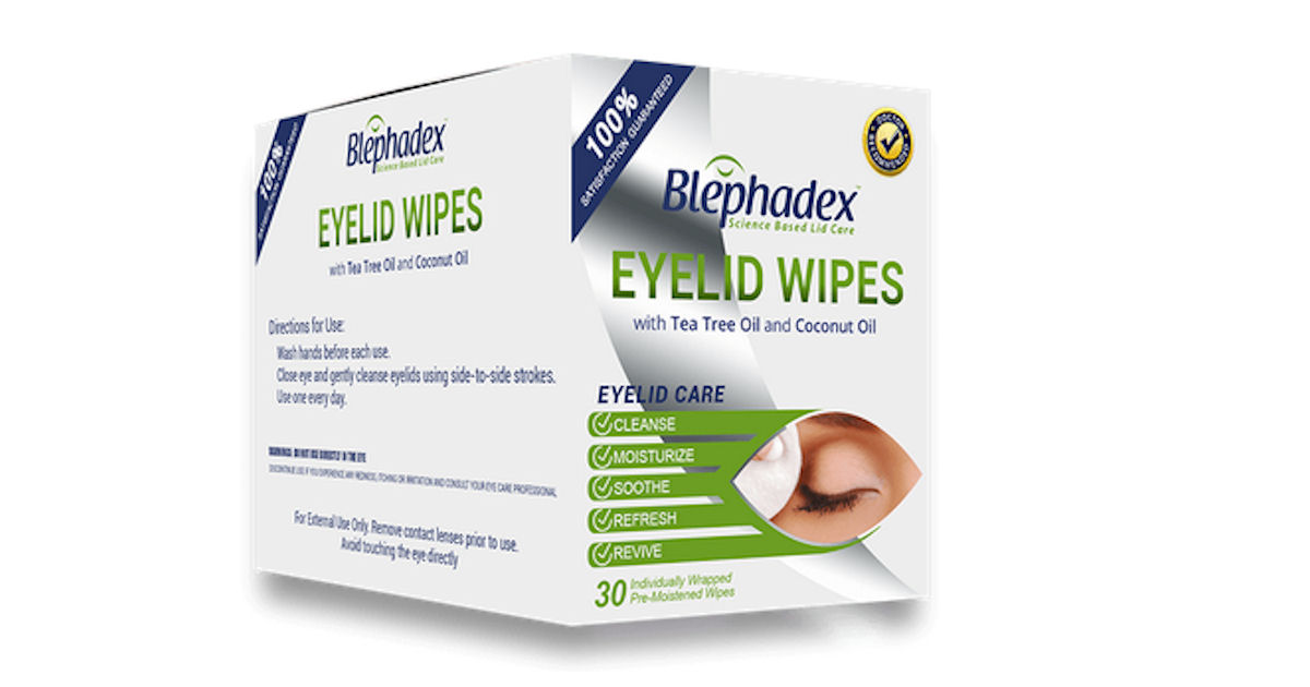 FREE Box of Blephadex Eyelid W...
