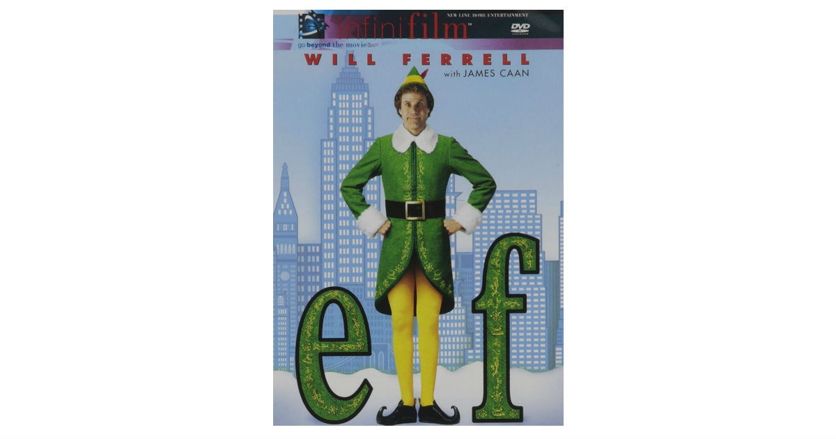Elf on DVD ONLY $5.79 on Amazon (Reg. $15)