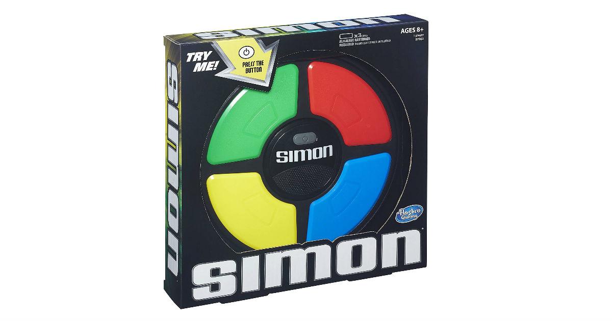 Hasbro Simon Game ONLY $10.71 (Reg. $20)