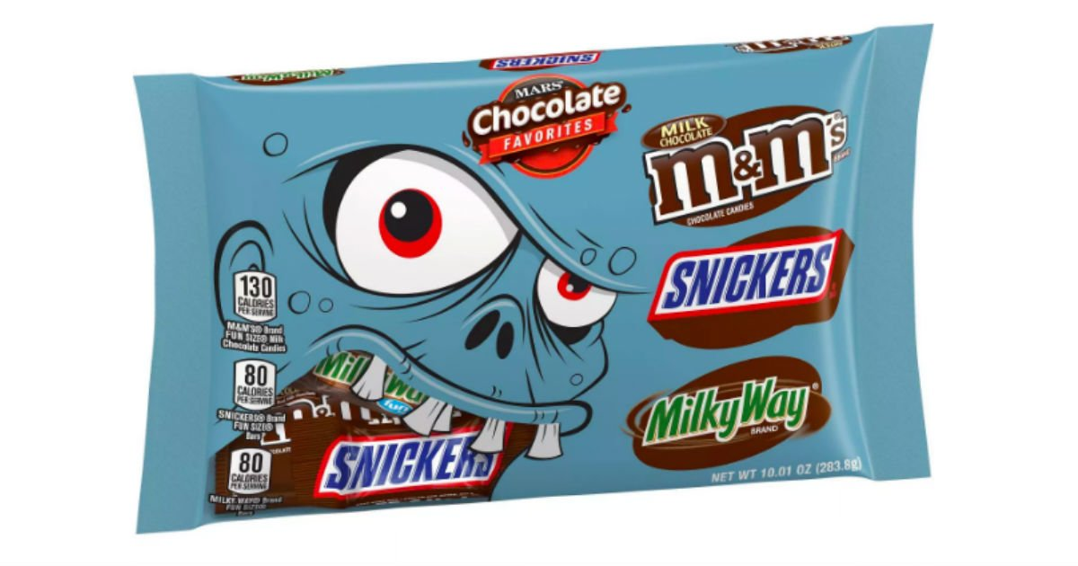 Mars Halloween Candy Bags ONLY $1.58 at Target , Printable