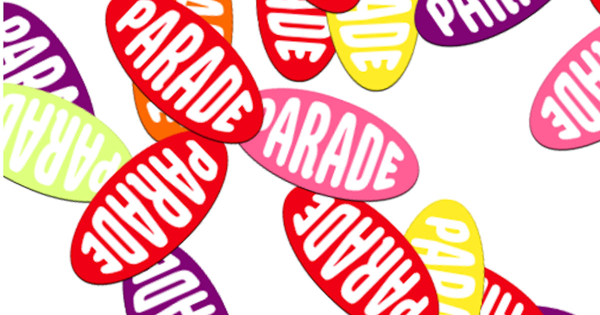 FREE Parade Stickers...
