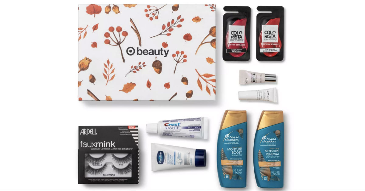TWO October Target Beauty Boxes ONLY $7 Shipped