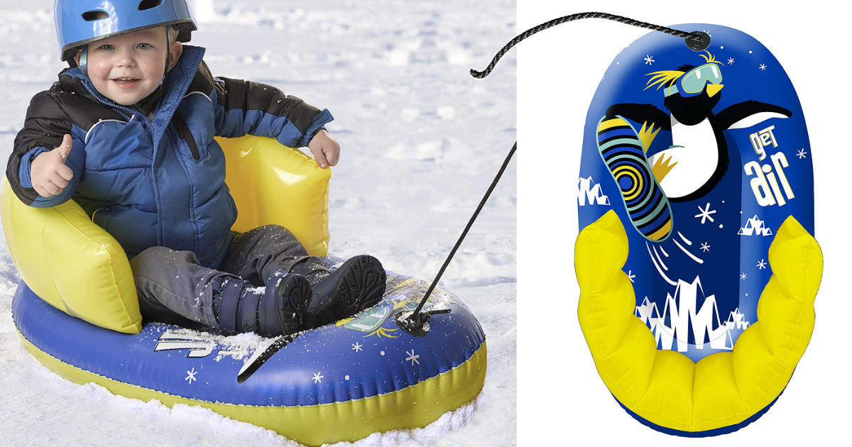 Aqua Leisure Pipeline Air Penguin Inflatable ONLY $5.55 (Reg $17)
