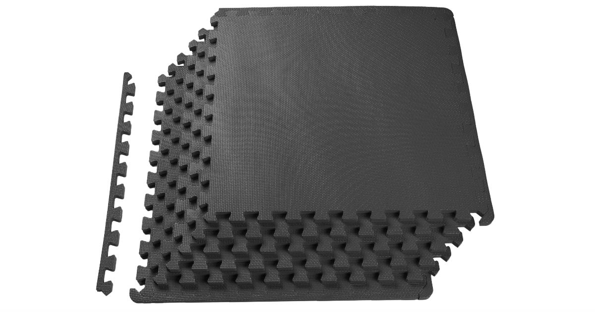 Sporwmt Puzzle Exercise Floor Mat 6-Piece ONLY $9.99 at Walmart