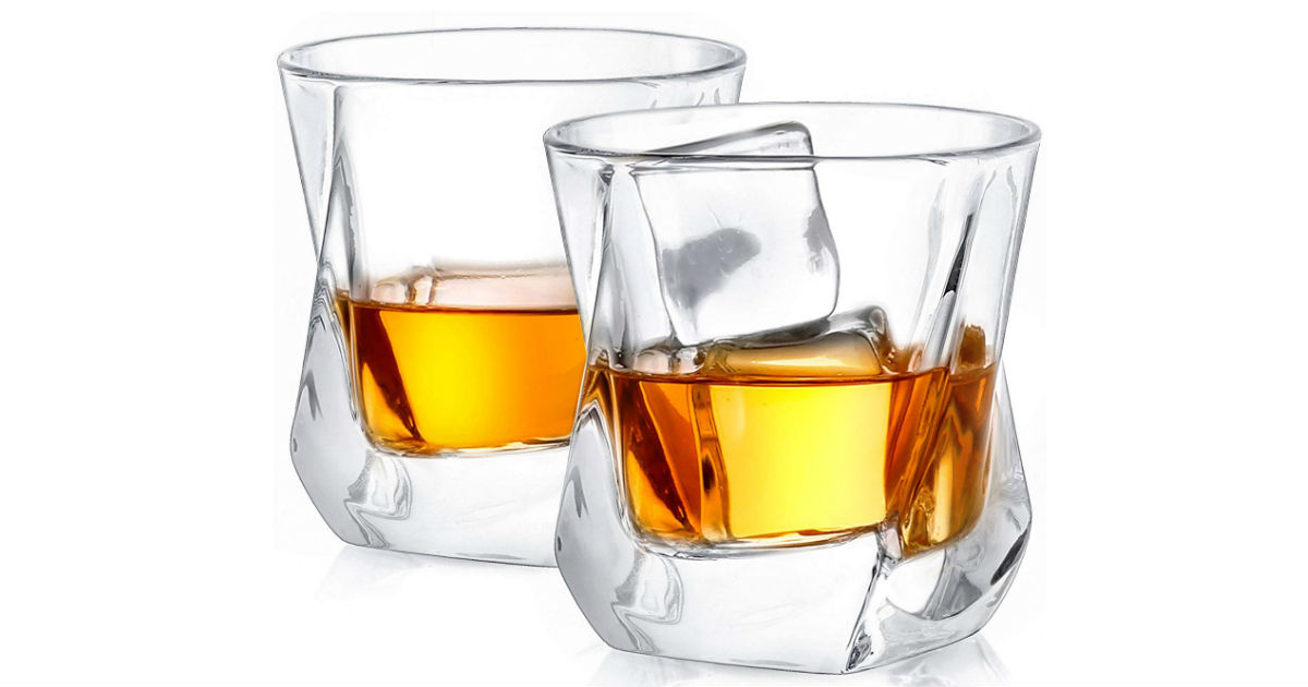 Crystal Whiskey Glasses ONLY $16.95 (Reg. $45)