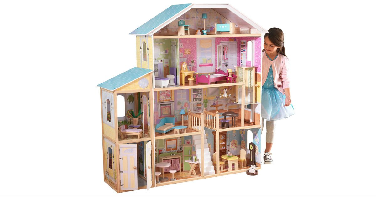 KidKraft Majestic Mansion Dollhouse ONLY $99.99 (Reg. $203)