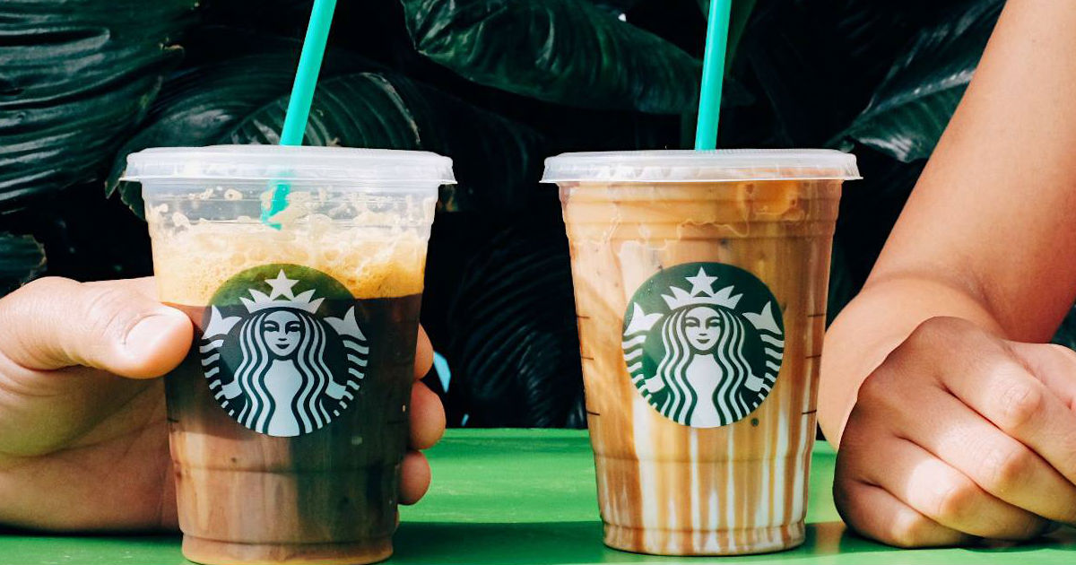 Buy 1 Get 1 FREE ANY Hand-Crafted Beverage at Starbucks