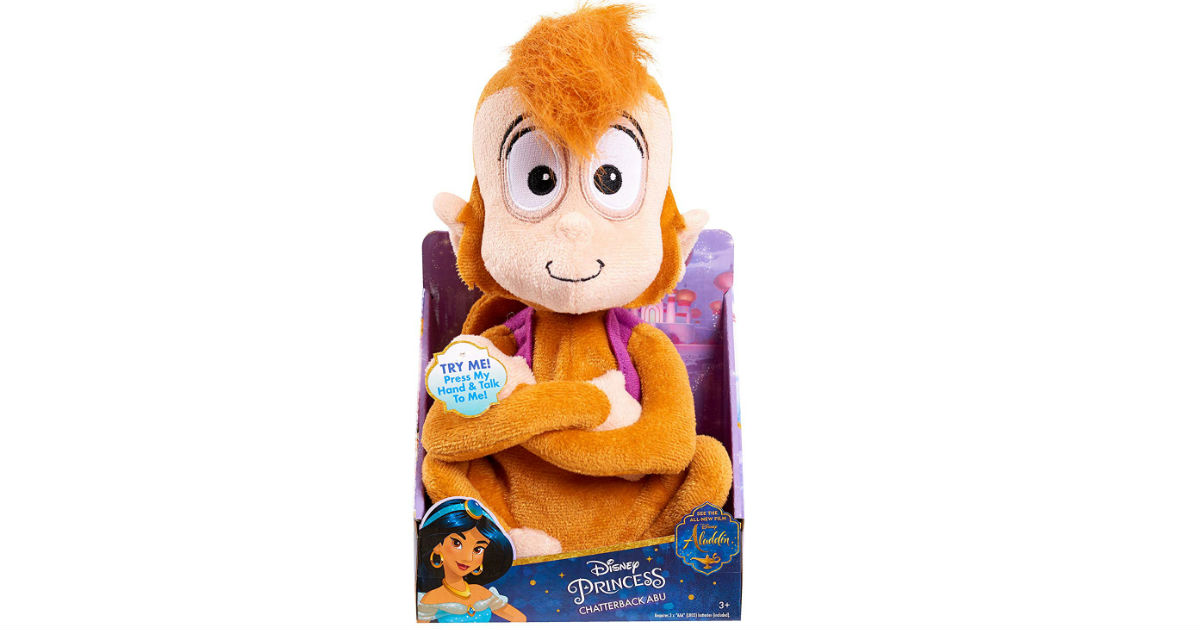 Disney Aladdin Chatterback Plush ONLY $6.49 (Reg $17)
