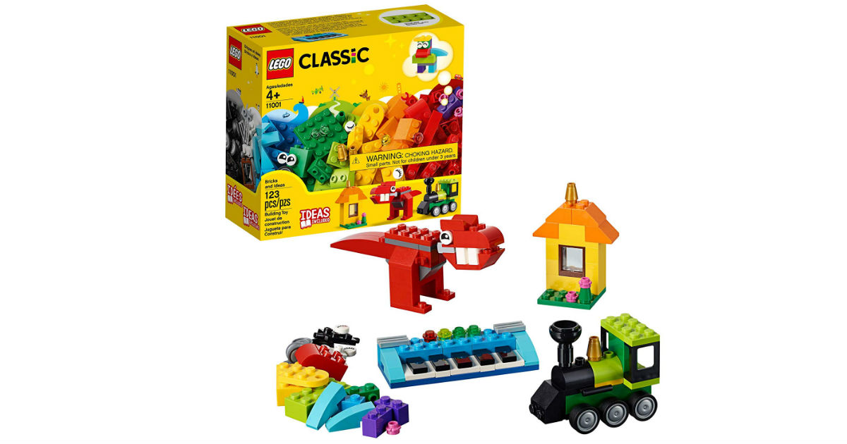 LEGO Classic Bricks and Ideas 123-Piece ONLY $6.99 (Reg $10)