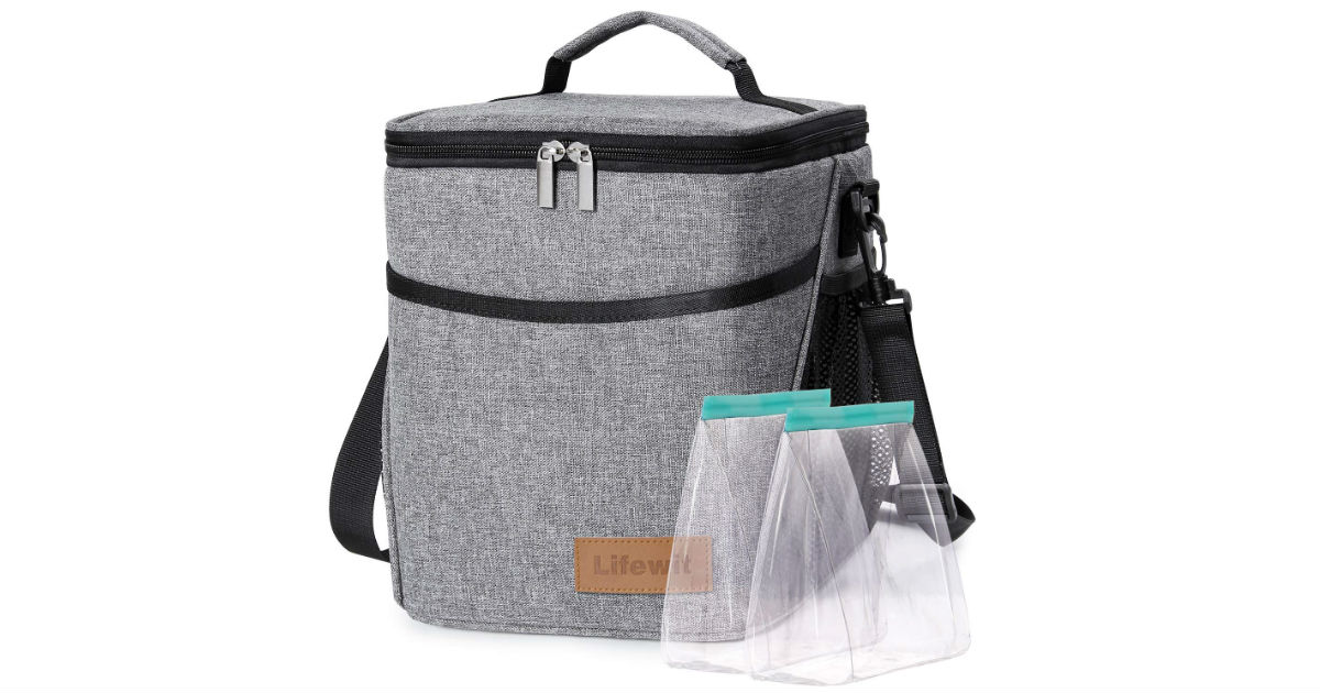 Lifewit 9-L Insulated Lunch Bag ONLY $9.85 (Reg $17)