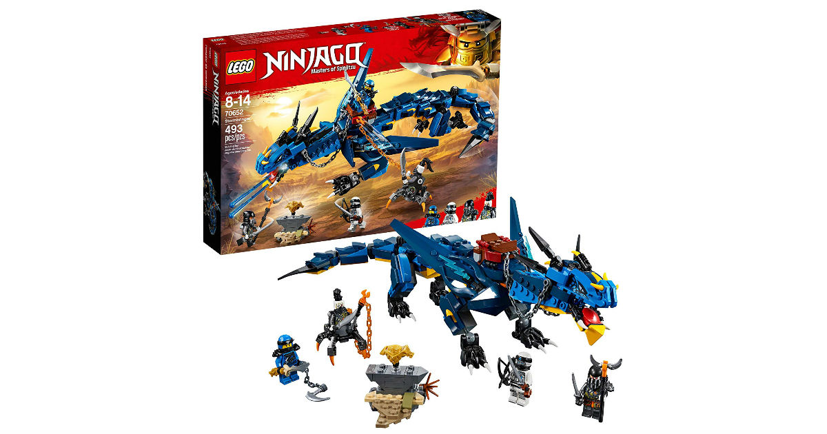 LEGO Ninjago Masters of Spinjitzu Kit ONLY $24.99 (Reg. $40)