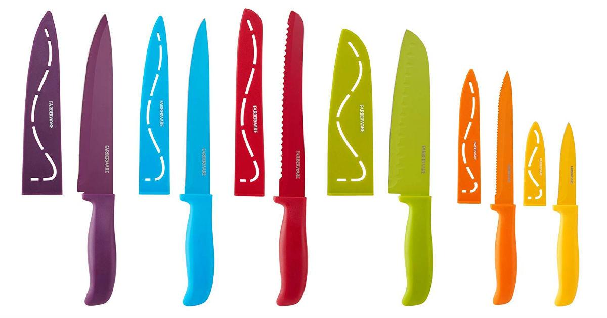 Farberware 12-Piece Knife Set ONLY $10.53 on Amazon