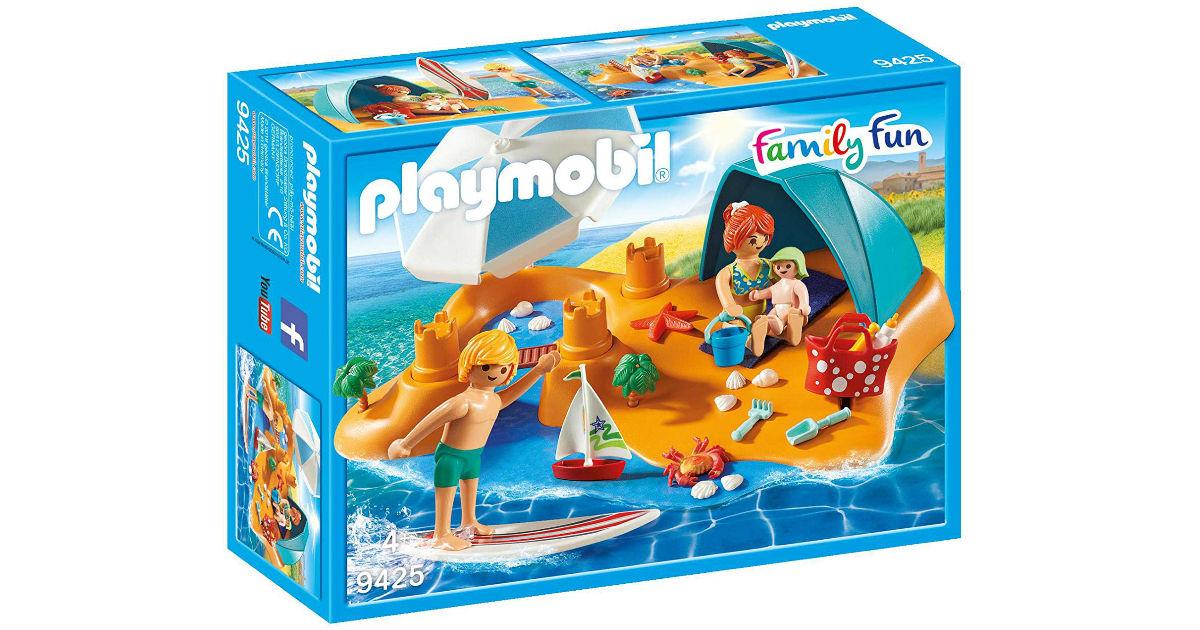 Playmobil Family Beach Day ONLY $11.49 (Reg $25)