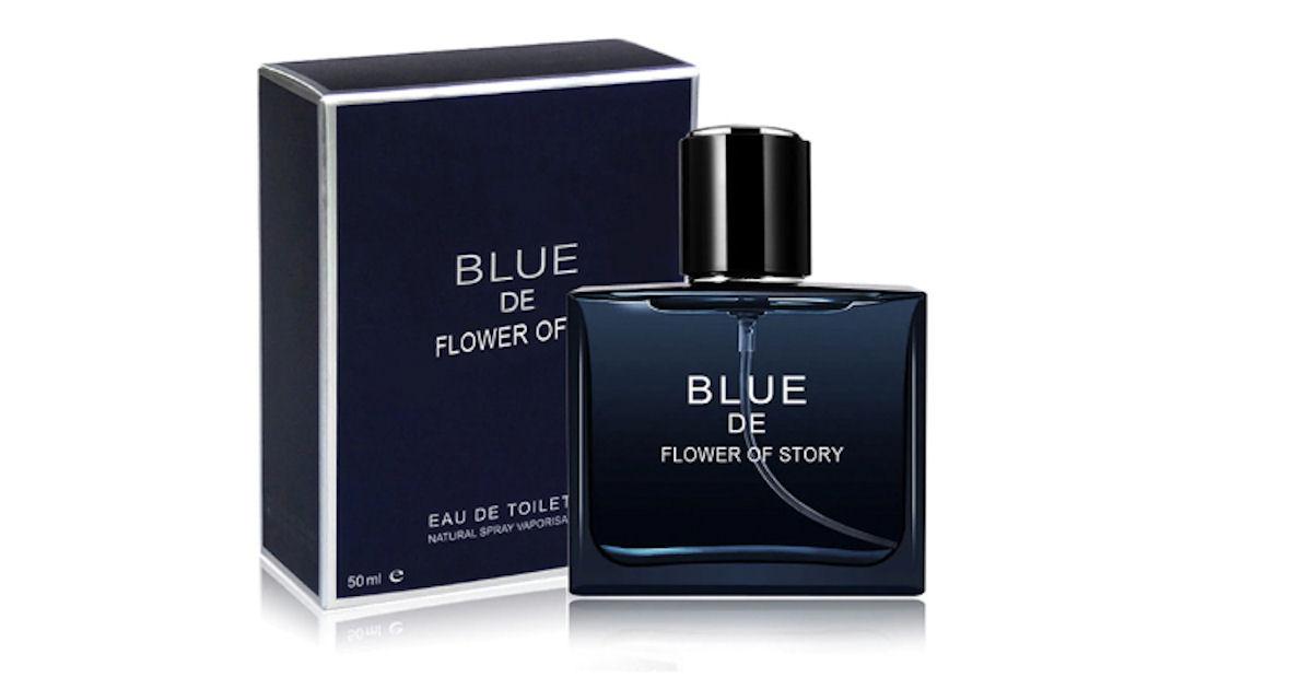 Blue de flower