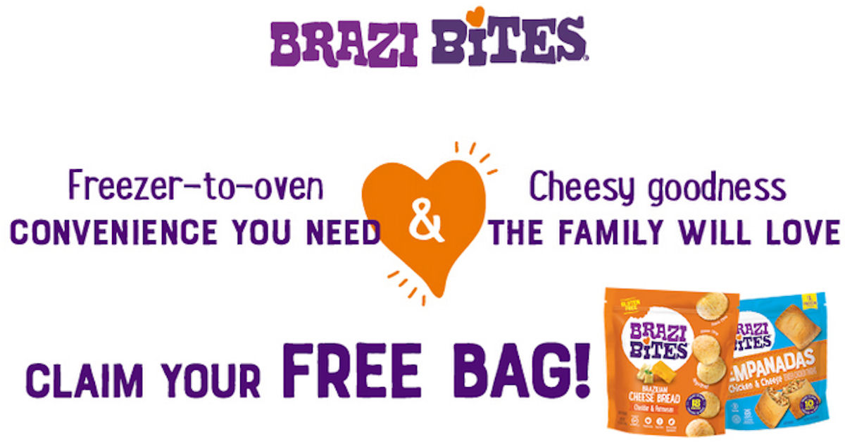 FREE Full-Size Bag of Brazi Bi...