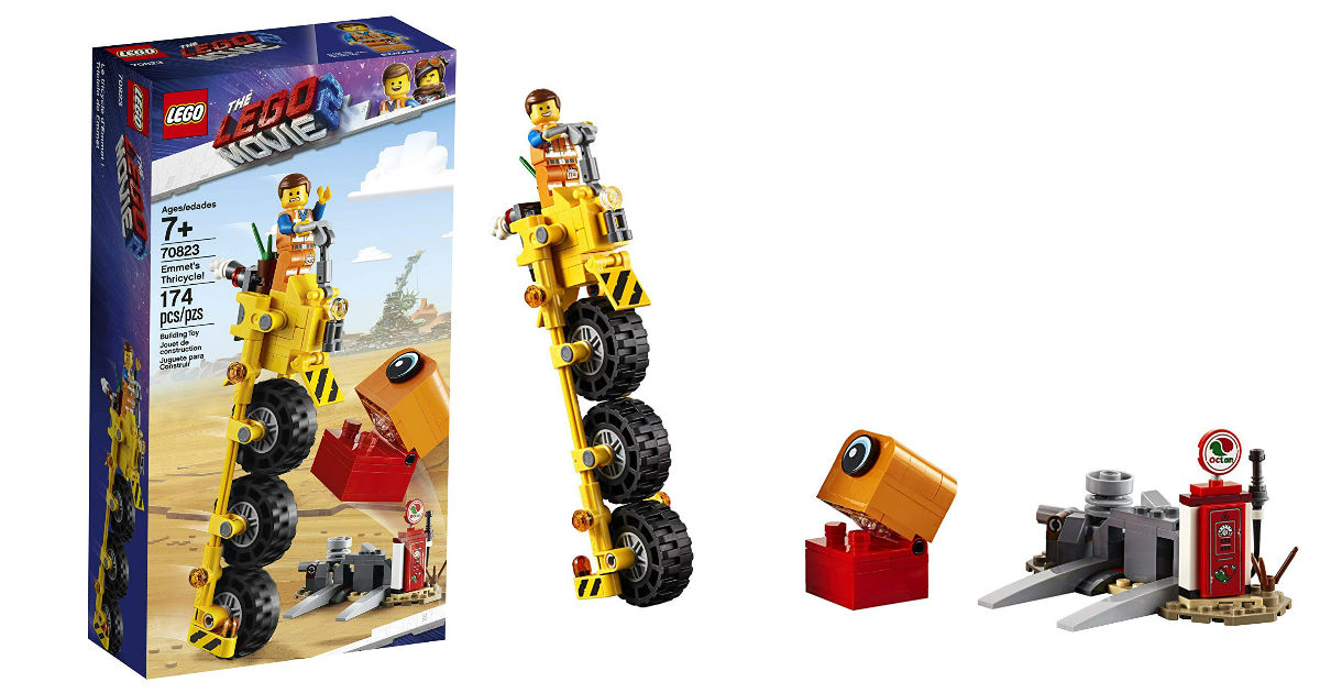 LEGO Movie 2 Emmet's Thricycle Set ONLY $8.07 (Reg. $15)