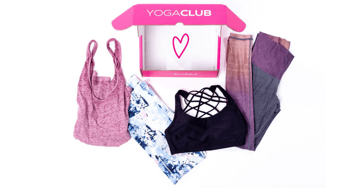 50% Off Activewear with YogaClub