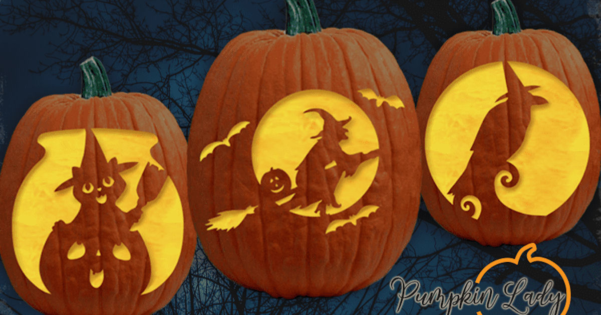 Hundreds of FREE Pumpkin Carving Stencils