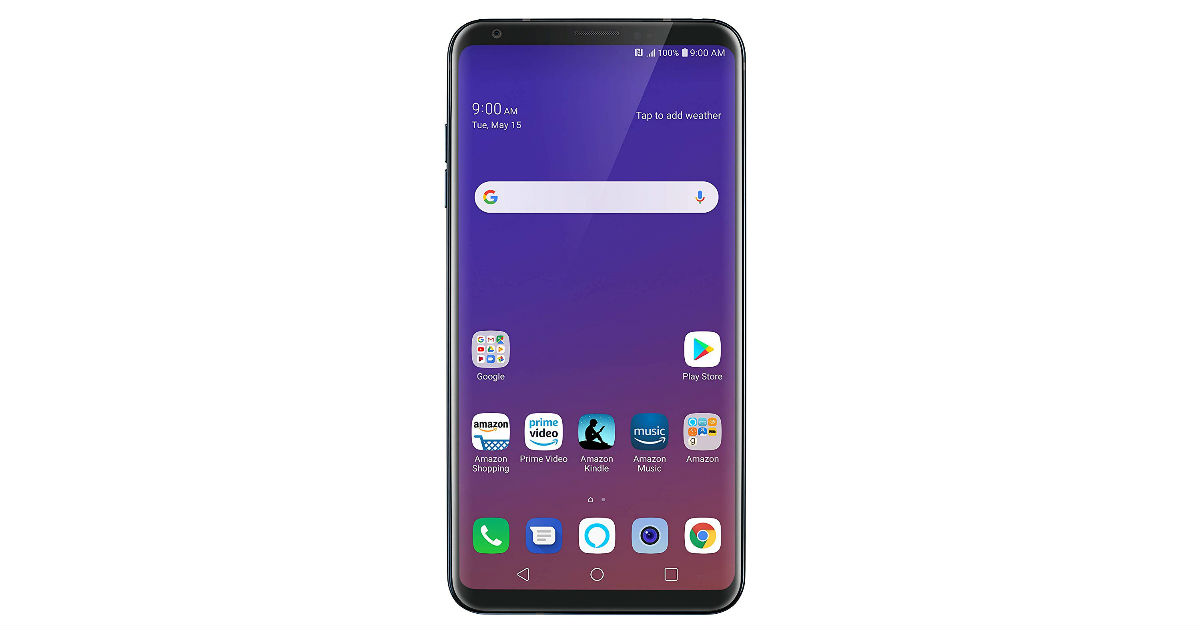 LG V35 ThinQ Unlocked 64GB Phone ONLY $399.99 (Reg. $900)
