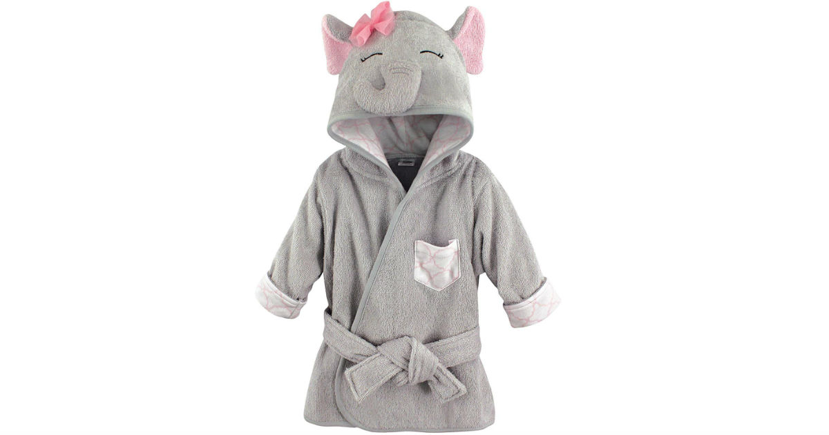 Hudson Baby Animal Face Hooded Bathrobe ONLY $6 (Reg $14)