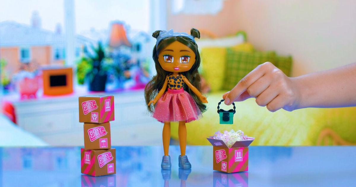 Boxy Girls Doll Nomi ONLY $5 at Walmart (Reg $15)