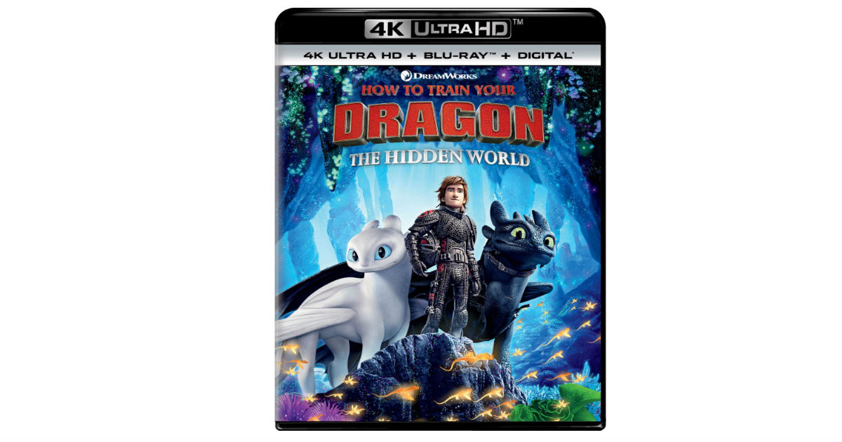 How to Train Your Dragon The Hidden World ONLY $12.99 (Reg. $30)