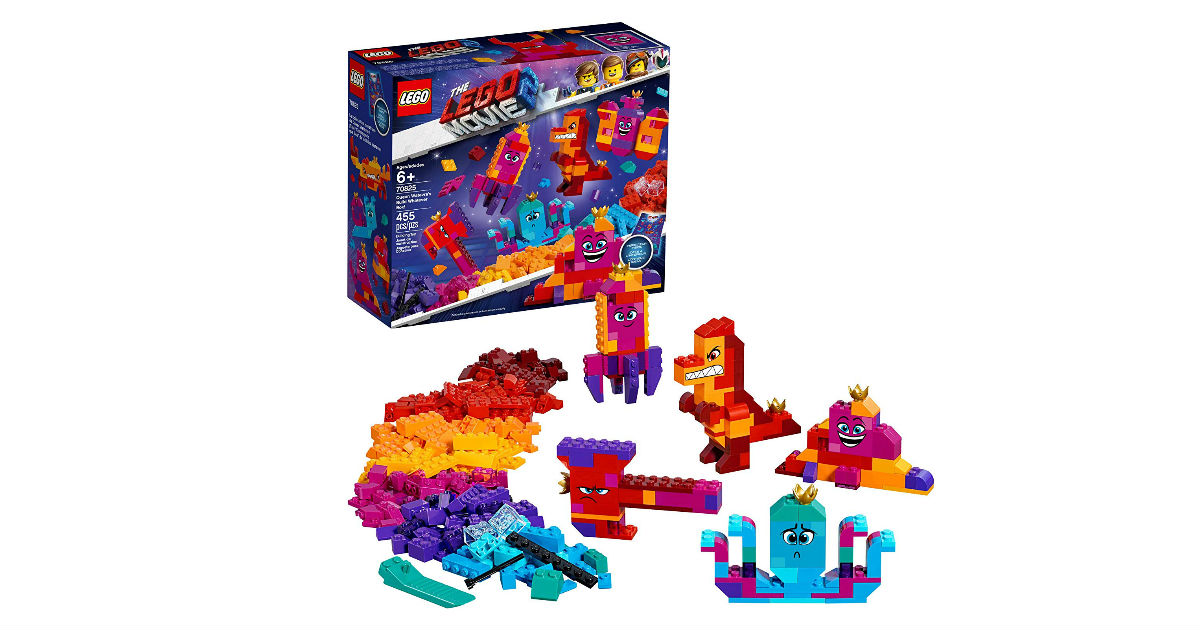 LEGO Movie 2 Queen Watevra's Build Whatever Box $23 (Reg. $40)