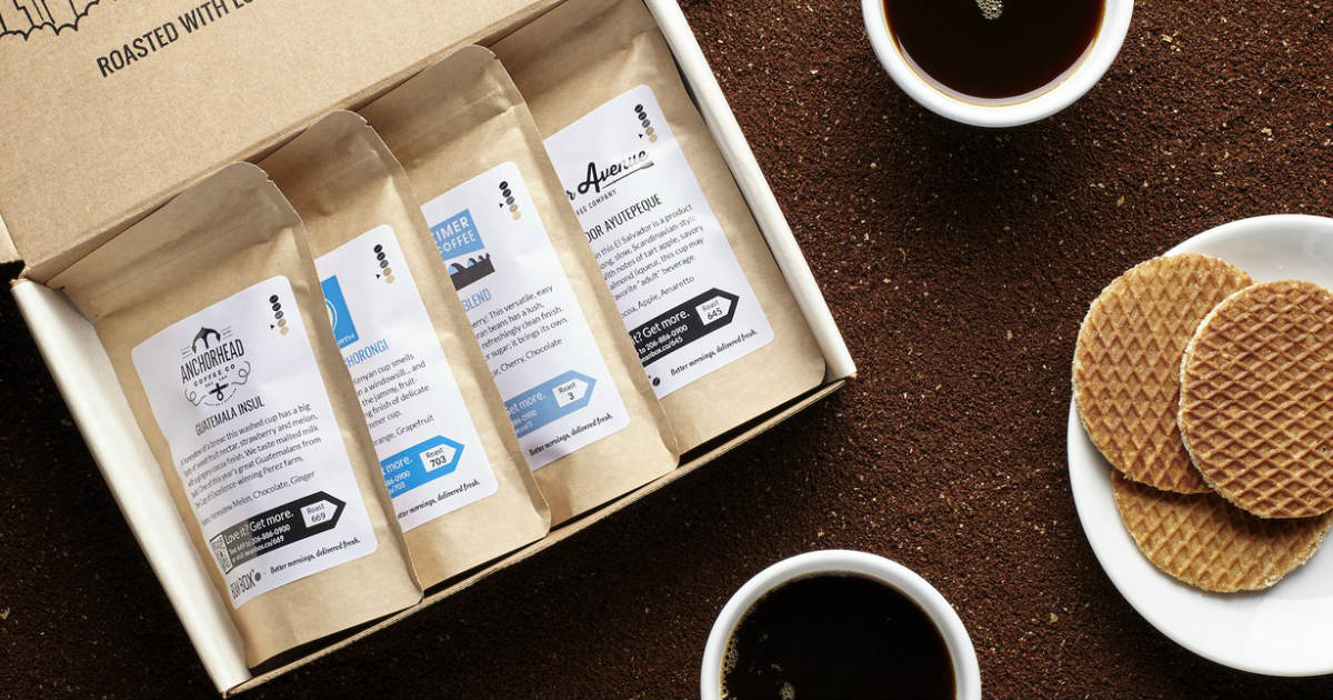 Bean Box Coffee Starter Kit ON...