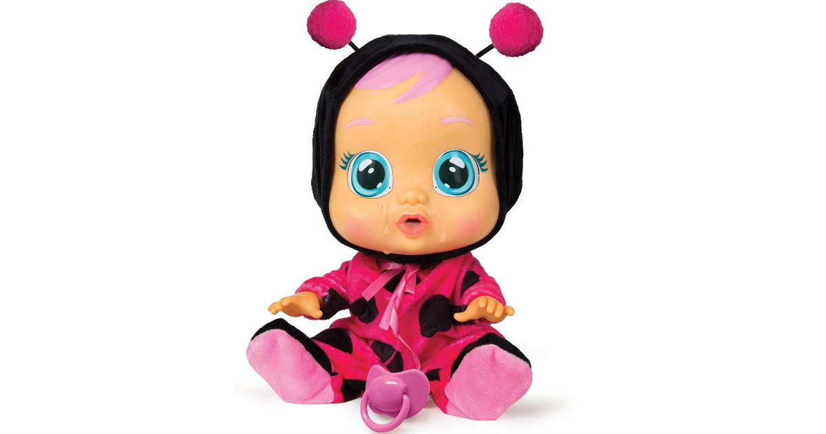Cry Babies Lady The Ladybug Doll ONLY $14.56 (Reg. $25)