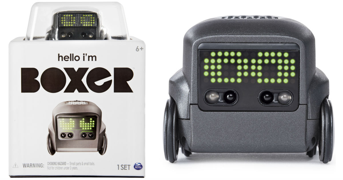 Boxer Interactive A.I. Robot Toy ONLY $22.97 at Walmart (Reg $80)