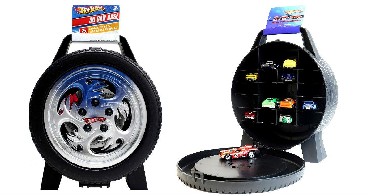 Hot Wheels 30-Car Storage Case ONY $8.99 (Reg. $15)